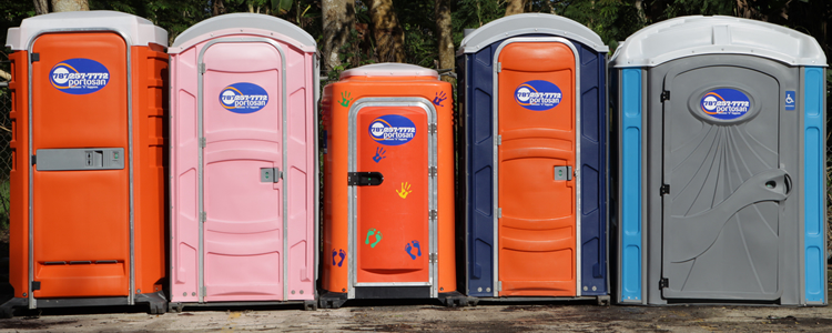 Click for our portable toilets!